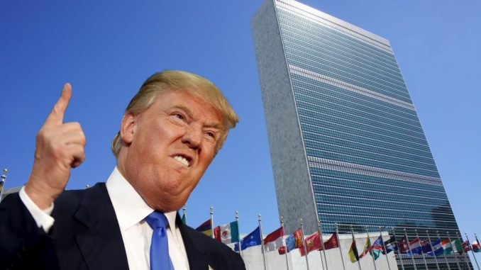 White House announce major retreat from the United Nations