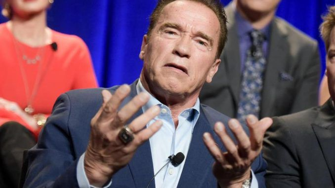 Arnold Schwarzenegger announced he won't be returning to host Celebrity Apprentice, and blamed President Trump for the show's poor ratings.