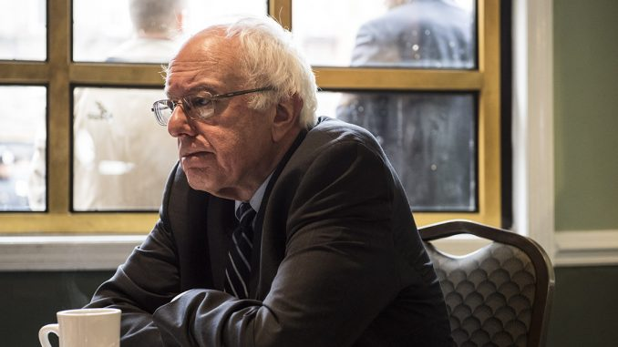 Bernie Sanders compared the Democratic Party in 2017 to the ill-fated Titanic in a recent interview.