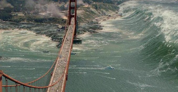 New study predicts that large parts of California will sink into the sea following an Earthquake