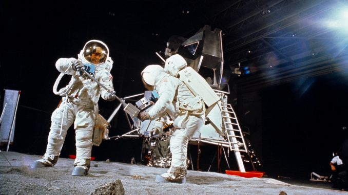 Former NASA contractor Cyndi Holland says she found proof that the moon landings were faked when she worked at the agency a few decades ago.