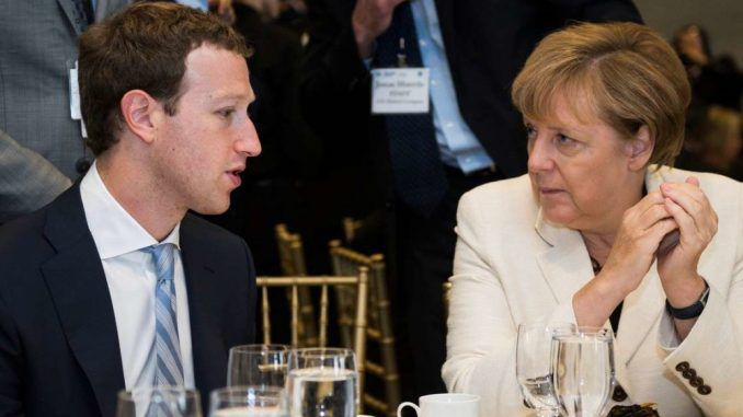 Germany will impose fines of up to 50 million euros if Facebook don't remove alternative news content from their platform.