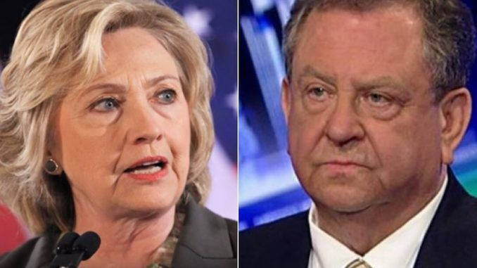 "A former FBI assistant director who served during Bill Clinton's presidency said Hillary Clinton should be ""shot by firing squad for treason."""