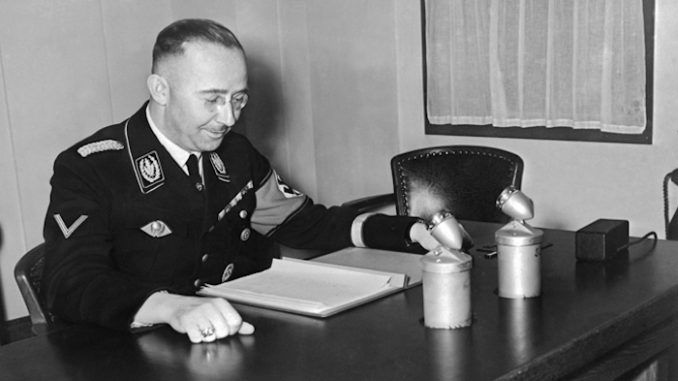 Nazi letter discovery reveals Himmler supported Palestinians