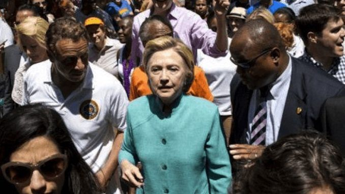 """Hillary Clinton is dying and her """"military funeral"""" is set to include a motorcade through D.C., according to emails published by Judicial Watch."""