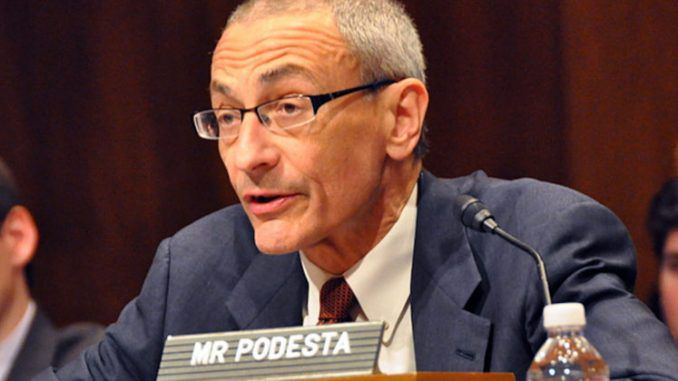 John Podesta is facing jail time after it was revealed the former Clinton campaign manager broke federal law by covering up the fact he owned tens of thousands of shares in a Russian bank.