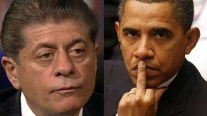 Judge Napolitano stated that President Obama was definitely surveilling Donald Trump during the election, and also revealed that Obama ordered wiretaps by himself without a warrant.