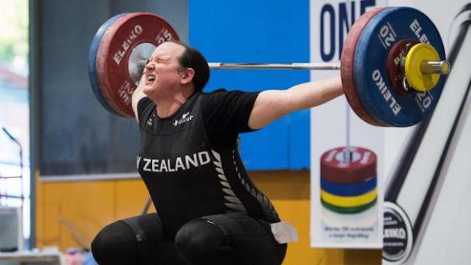 Former male wins female weightlifting competition