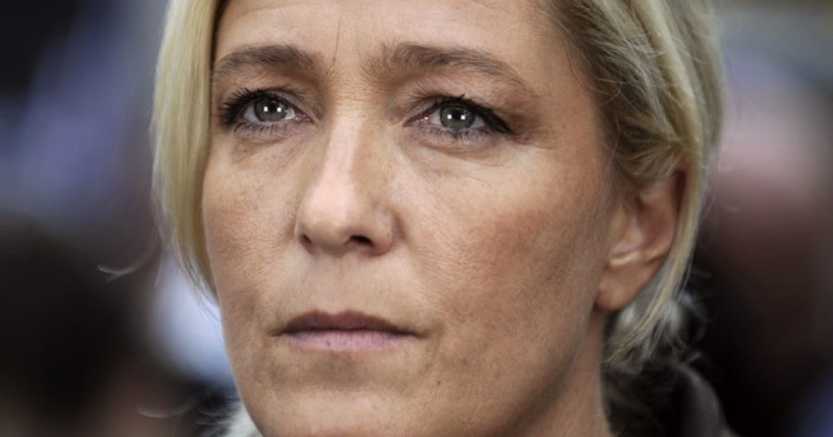 """Leading French presidential candidate Marine Le Pen has vowed to """"destroy the New World Order"""" when she is elected President of France."""