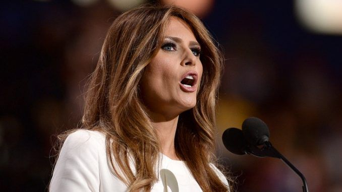 """First Lady Melania Trump has credited the healing and nurturing properties of nature for her good health, and urged Americans to stop leaning so heavily on Big Pharma to provide """"magic potions"""" to cure their ills."""