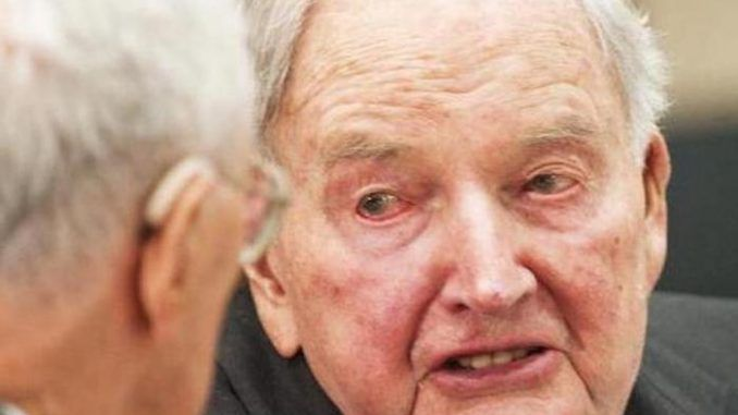 New World Order henchman David Rockefeller dies at 101 - Queen Elizabeth next in line to die