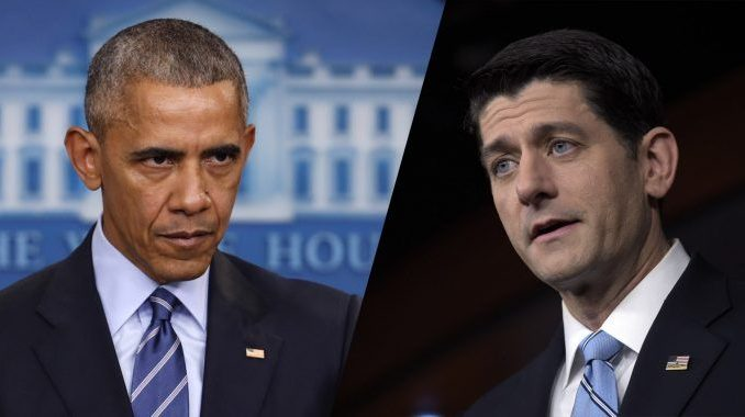 Paul Ryan accuses Obama of illegally wiretapping Trump