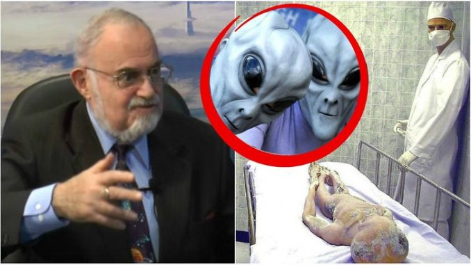 Nuclear physicist admits aliens are already here