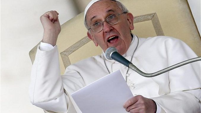 "Pope Francis warned the European Union ""risks dying"", and launched an assault against the idea of democracy, calling it ""a form of egotism""."