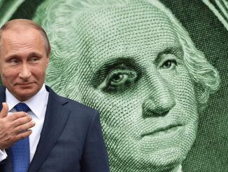 Putin to split Russia away from international banking carter -ditching the dollar for gold