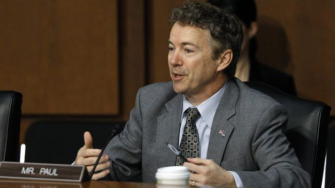 Rand Paul introduced bill aimed at stopping the U.S. from funding terrorists