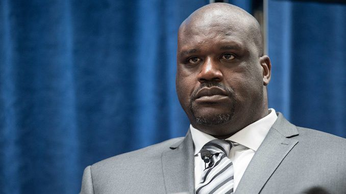 """Shaquille O'Neal has become the latest celebrity to join the flat-earth society, declaring that our minds have been manipulated to accept """"the lie that the earth is round."""""""