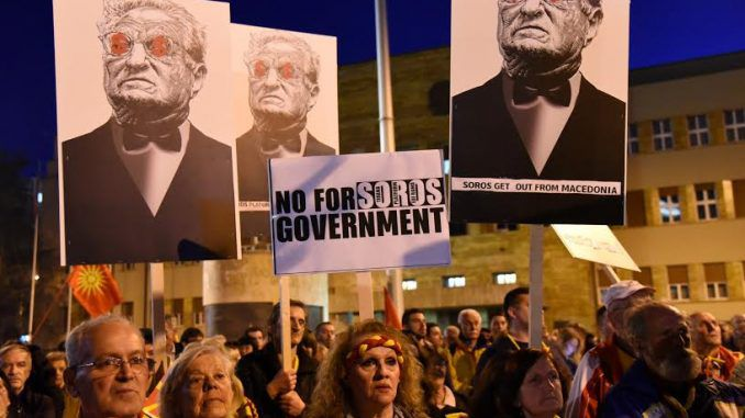 George Soros suffers defeat in Macedonia as thousands of citizens reject EU
