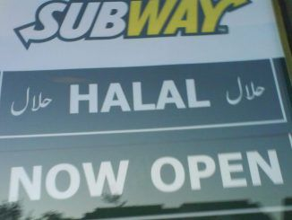 """Fast food giant Subway has removed ham and bacon from menus in 185 stores and switched to halal meat in the UK after """"strong demands"""" by Muslims."""
