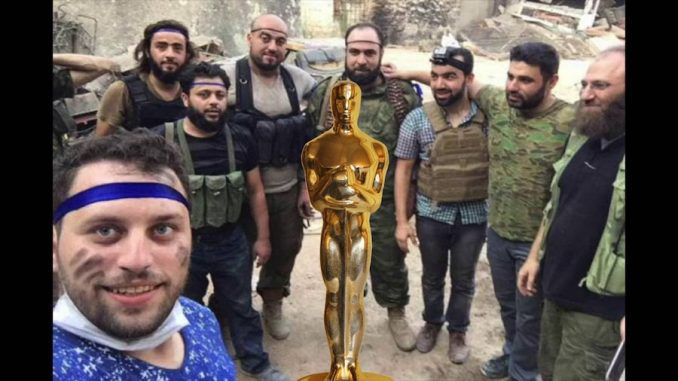 Hollywood elite gave an Oscar to a terrorist organization directly affiliated with Al-Qaeda when they rewarded The White Helmets.