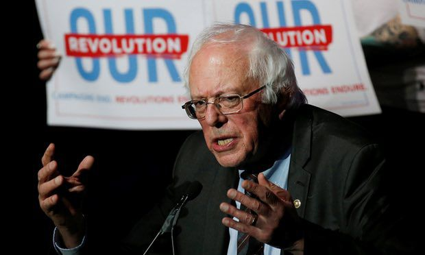 "Bernie Sanders wants to create ""a Democratic Party that is not a party of the liberal elite but of the working class of this country""."