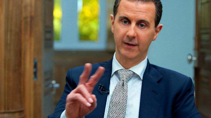 Syrian President Bashar al-Assad says the Deep State have full control over America, not Trump