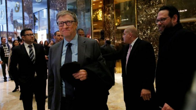 Bill Gates met with President Trump in a last-ditch attempt at stopping the independent inquiry into vaccine safety.