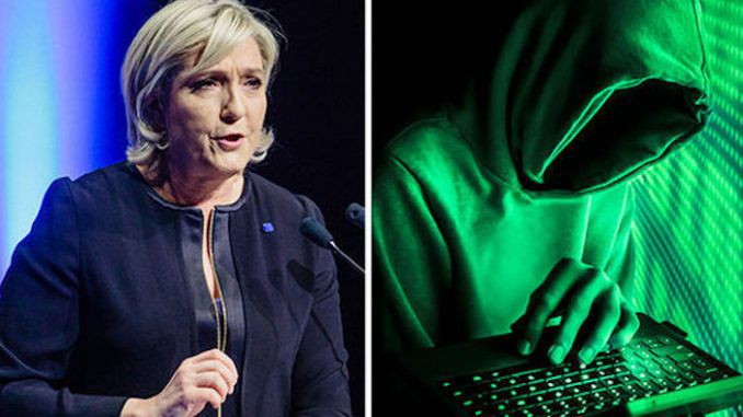 Wikileaks accuse CIA of hacking Marine Le Pen to destroy her campaign