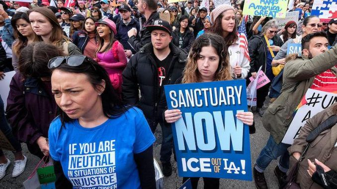 California becomes nations first sanctuary State - in defiant of Trump administration