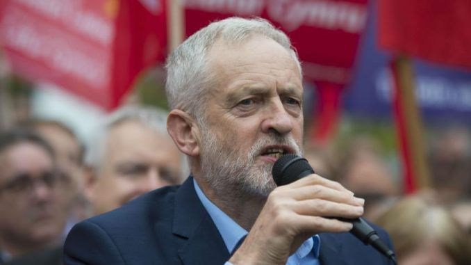 British opposition leader, Jeremy Corbyn, says he will suspend UK involvement in Syria air strikes if elected.
