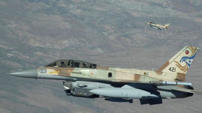 Israeli jets pounded targets in Damascus, Syria overnight, according to reports from Lebanon and the Jerusalem Post.