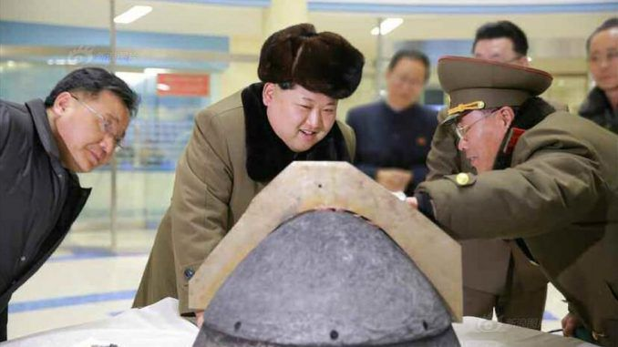 Pentagon warn that North Korea are developing a nuclear missile capable of hitting US mainland