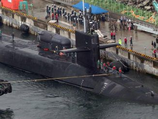 North Korea consider sinking US sub in S. Korea