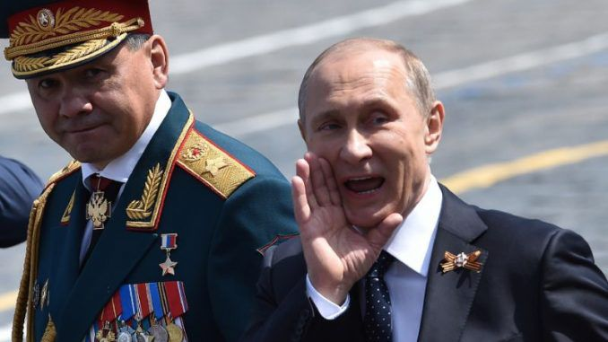 Putin reminds the world that the USSR won world war 2