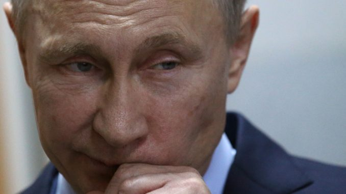 Putin says Russia is ready to show proof the chemical weapons attack in Syria was a false flag by the US as a pretext to an oil war invasion.
