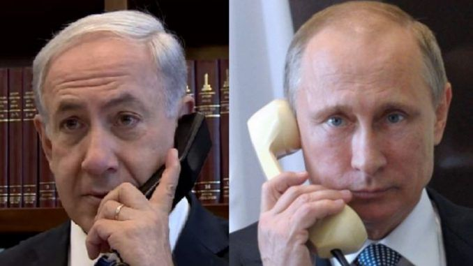 Putin slams Netanyahu over Syrian chemical weapons lies
