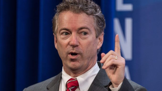 Rand Paul says the Syria attack now puts the U.S. on the same side as ISIS