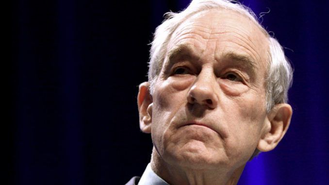 President Trump is a hypocrite for turning his back on WikiLeaks and Julian Assange, according to Ron Paul.