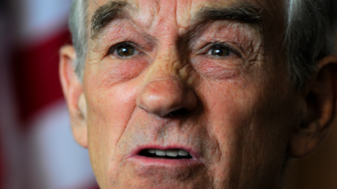 Ron Paul says the elites don't want peace in the Middle East