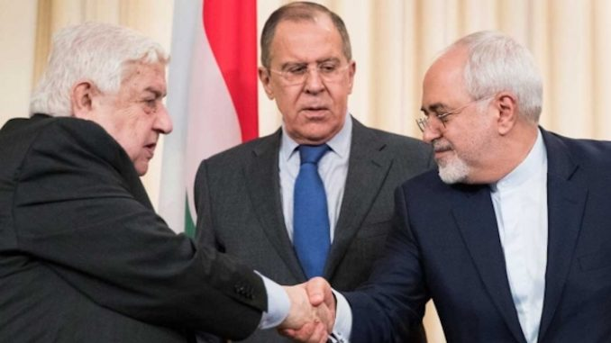 Russia, Syria and Iran demand U.S. stay out of Syria amid false flag allegations