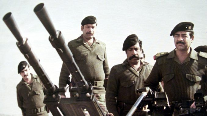 CIA documents show that U.S. supported Saddam Hussein gassing of Iranians
