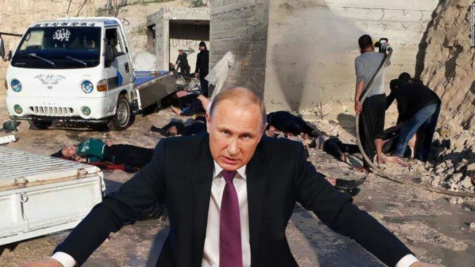 Putin warns that President Trump is planning a series of false flag attacks in Syria to justify the ousting of President Assad