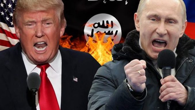"President Trump and President Putin have agreed to ""work together"" to ""wipe ISIS off the map once and for all"" following the St Petersburg metro terror attack on Monday."