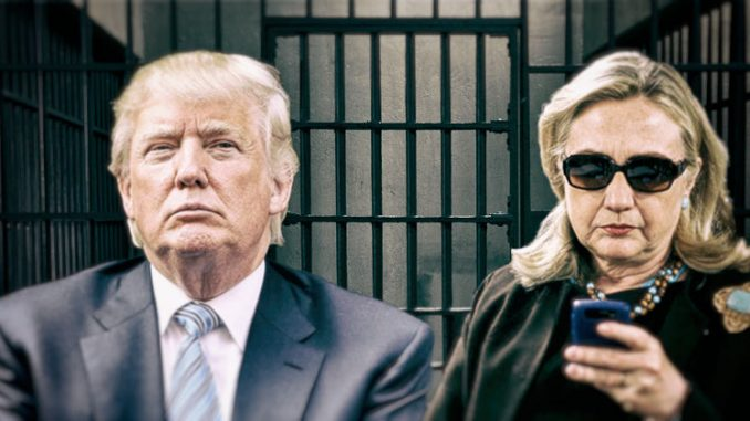 "Trump told Fox News that Hillary Clinton was ""guilty of all charges"" regarding the email scandal, and claims the FBI ""got her out of jail."""