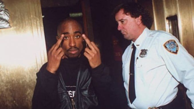 Tupac Shakur is alive and in police custody in Los Angeles, according to Los Angeles Country Sherriff's Department documents.