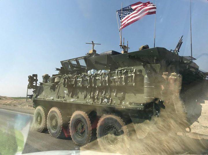Reports: U.S. Armored Vehicles Entering Syria From Jordanian Border