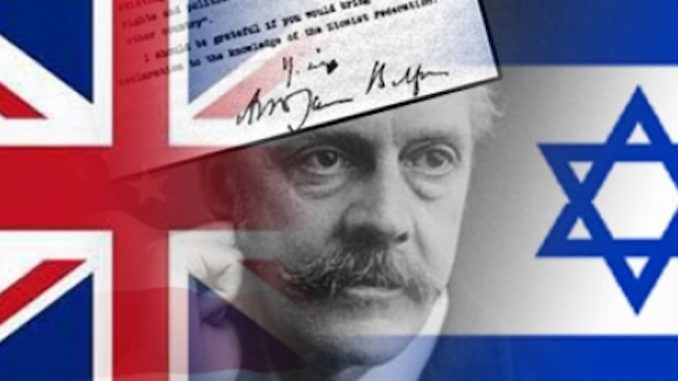 United Nations caught rewriting British Balfour Declaration