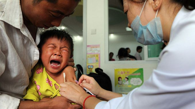 Chinese study finds link between vaccines and autism