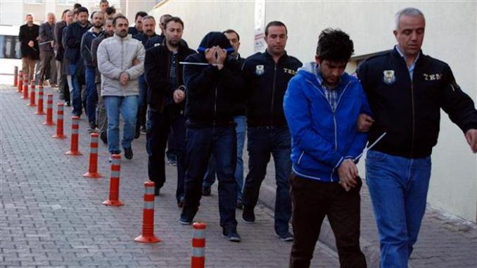 Erdogan rounds up 9,000 dissident police officers in Turkey