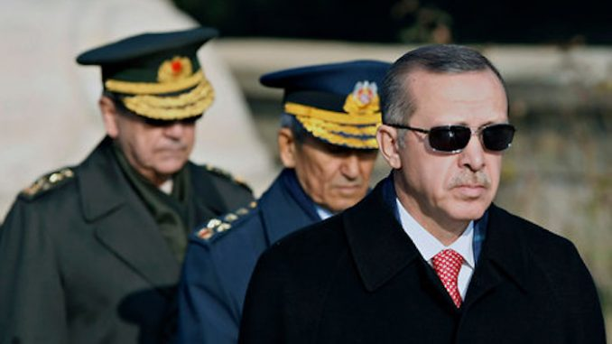President Erdogan threatens to invade Syria and Iraq